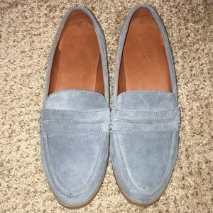 Universal Threads Blue Suede Loafers